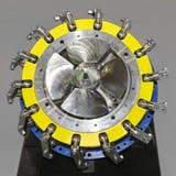 Turbina da tubulação Fotografia de Stock