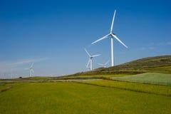 Turbina das energias eólicas Foto de Stock Royalty Free