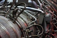 Turbina de gas Imágenes de archivo libres de regalías