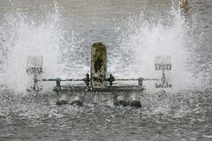 Turbina de la aireación Imagen de archivo