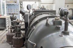Turbina de vapor Imágenes de archivo libres de regalías