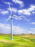 Turbina de vento ilustração stock
