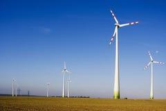 A turbina de vento Imagens de Stock