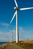 Turbina de vento Foto de Stock Royalty Free