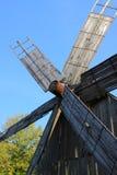 Turbina de vento do moinho de vento Imagem de Stock