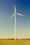 Turbina de vento, energia alternativa Foto de Stock