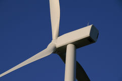 Turbina de vento gigante Imagens de Stock Royalty Free