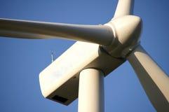Turbina de vento gigante Foto de Stock Royalty Free
