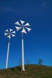 Turbina de vento moderna Foto de Stock Royalty Free