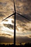 Turbina de viento. Fotografía de archivo libre de regalías