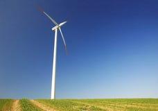 Turbina de viento Imágenes de archivo libres de regalías
