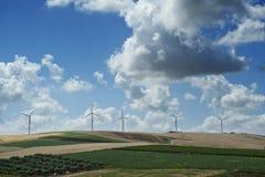 Turbina de viento Foto de archivo