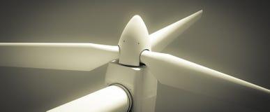 Turbina de viento Foto de archivo libre de regalías