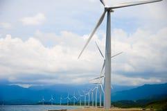 Turbina de viento en Filipinas Foto de archivo