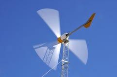 Turbina de viento en la acción Fotografía de archivo