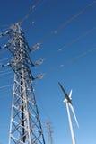 Turbina de viento - imagen común fotos de archivo libres de regalías