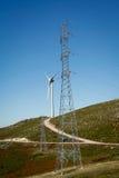 Turbina de viento - imagen común imagen de archivo