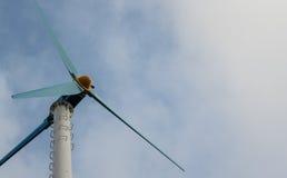 Turbina de viento para la energía Imagen de archivo libre de regalías