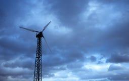Turbina de viento privada Fotos de archivo libres de regalías