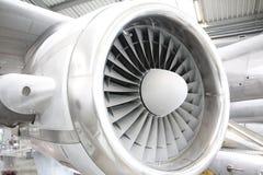 Turbina degli aerei fotografie stock libere da diritti