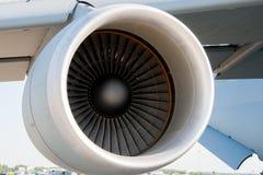 Turbina del aeroplano Imágenes de archivo libres de regalías