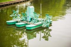 Turbina del agua, rueda de turbina del aerador Foto de archivo libre de regalías
