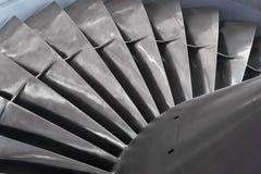 Turbina del motor de turborreactor Imágenes de archivo libres de regalías