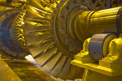 Turbina del rotor Fotos de archivo