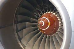 Turbina dell'aeroplano Fotografie Stock Libere da Diritti