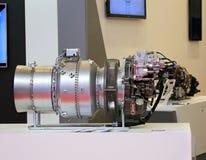 Turbina dell'elicottero Fotografia Stock