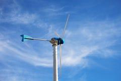 Turbina dell'energia eolica Immagini Stock Libere da Diritti