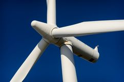 Turbina dell'energia eolica, ecologia Fotografia Stock