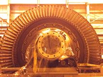 Turbina della lama Fotografia Stock