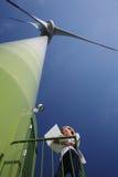 Turbina di vento Immagini Stock Libere da Diritti