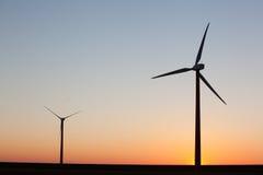 Turbina di vento Fotografie Stock Libere da Diritti