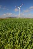 Turbina di vento Immagini Stock
