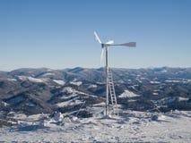 Turbina di vento. Energia fotografia stock libera da diritti