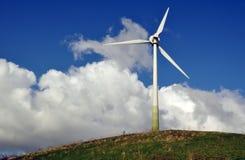 Turbina di vento - energia alternativa Immagine Stock Libera da Diritti