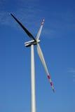 Turbina di vento isolata Fotografia Stock