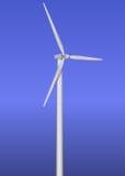 Turbina di vento isolata Fotografie Stock Libere da Diritti
