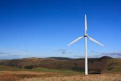 Turbina di vento nel Galles Immagine Stock