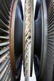 Turbina do gerador da central eléctrica fotografia de stock