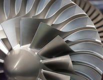 Turbina do motor Fotos de Stock