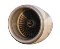 Turbina do motor de jato dos aviões Fotografia de Stock Royalty Free