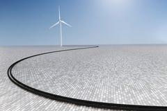 Turbina eólica Imagem de Stock Royalty Free
