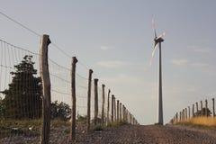 Turbina eólica foto de stock royalty free