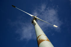 Turbina eólica Fotos de Stock Royalty Free