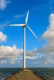 Turbina eólica dinamarquesa Fotografia de Stock Royalty Free