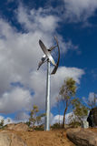 Turbina eólica em San Diego Fotografia de Stock Royalty Free