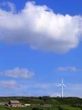 Turbina eólica em Yorkshire Imagem de Stock